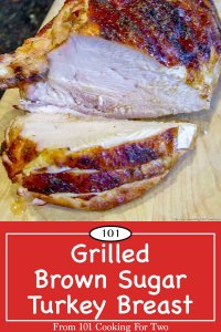 image of grilled turkey breast for Pinterest