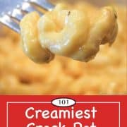 Graphic for Pinterest of Mac and Cheese