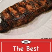 pinterest graphic for steak marinade