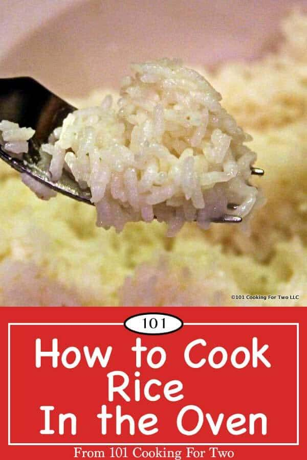 Make perfect rice every time with this easy and proven recipe to cook rice in the oven. Fluffy rice in 30 minutes is just so easy. #Rice #HowToCookRice #OvenRice #CookingRice
