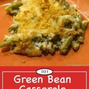 image for Pinterest of Green Bean Casserole Without Soup