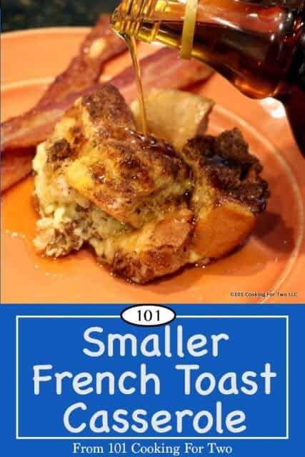 Image of French Toast Casserole for Pinterest