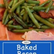 image for Pinterest for green beans with bacon