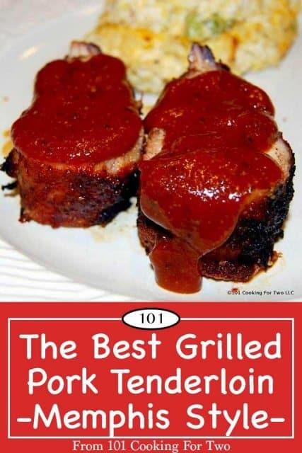 Pinterest image for The best pork tenderloin