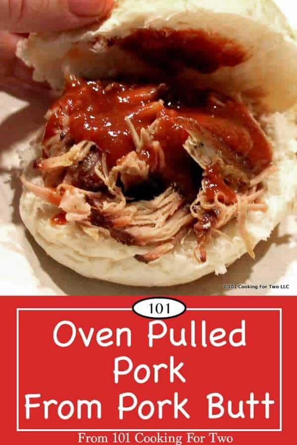 Outrageously good. Low and slow is how you do it. Easy oven pulled pork with great taste with only a few minutes of active cooking time. So easy. #PulledPork #tailgate #BBQ #PorkButt #OvenPulledPork