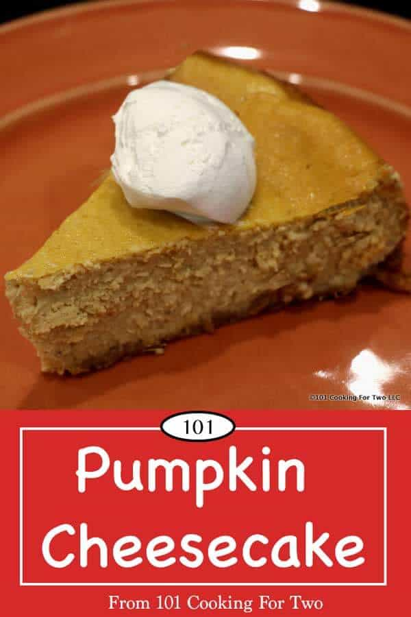 Decadent pumpkin cheesecake is easy with these simple step by step photos instructions for the home cook. Cheesecake Factory inspired. Take something very special to those family gathering that will have them all talking. #PumpkinCheesecake #PumpkinSpiceCheesecake #CheesecakeFactoryCheesecake