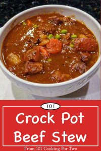 image of crock pot beef stew for pinterest