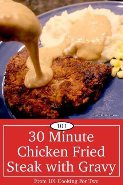 Image of Chicken Fried Steak for Pinterest