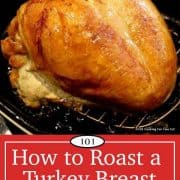 image for pinterest of turkey breast