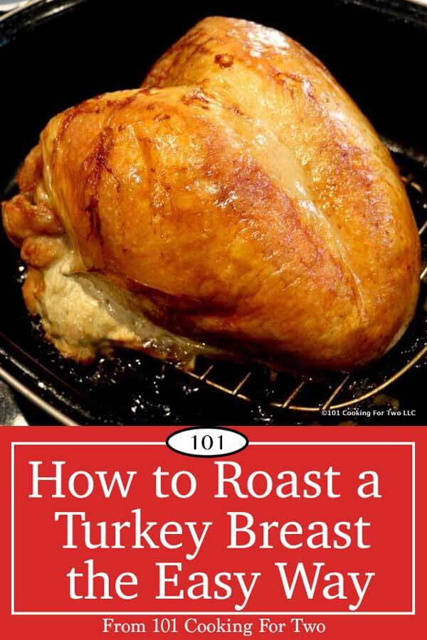 A complete how-to guide to cooking a previously frozen turkey breast. Get perfect results the first time and every time with these easy step by step photo instructions.#Turkey #TurkeyBreast #RoastTurkeyBreast #Thanksgiving