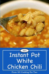 image of instant pot chili for pinterest