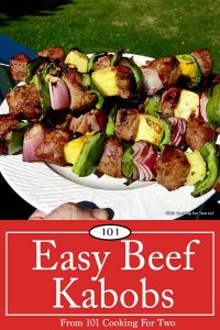 image for pinterest of beef kabobs