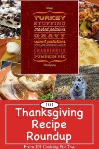 Graphic for Pinterest for the Thanksgiving Recipe Roundup