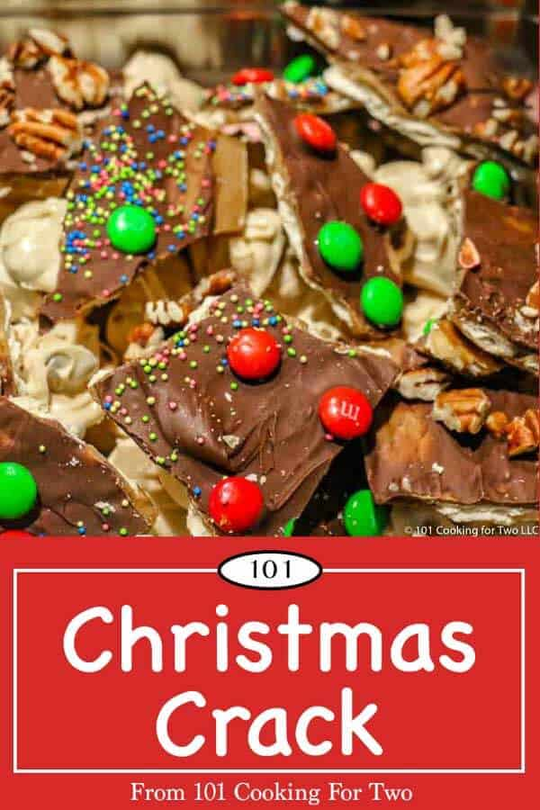 Super easy Christmas Crack to take to those holiday gatherings. Just follow these simple step by step photo instructions then top as you want. #ChristmasCrack #ChristmasCandy #Candy #Saltine Toffee Candy