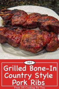 Image for Pinterest for bone in country style ribs
