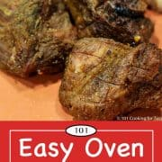 graphic for Pinterest of oven carnitas
